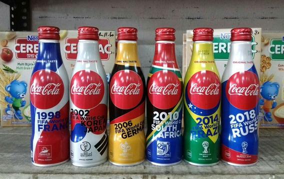 Garrafas Coca Cola Copa 2018