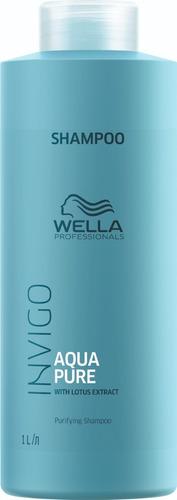 Wella Aqua Pure Shampoo Cabelos Oleosos 1000 Ml
