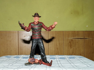 Freddy Krueger Mezco. Cinema Of Fear. ¡muy Difícil!