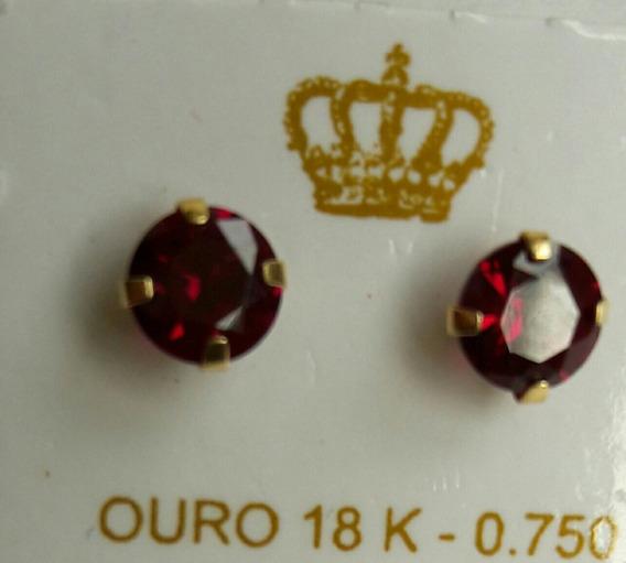 Brinco Ouro 18 Kl 750