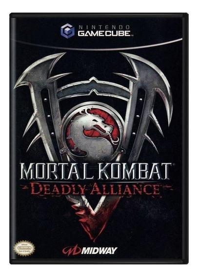 Mortal Kombat Deadly Alliance Gamecube Mídia Física