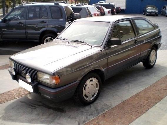 Volkswagen Gol 1.8 Gts Cinza 8v Gasolina 2p Manual 1992