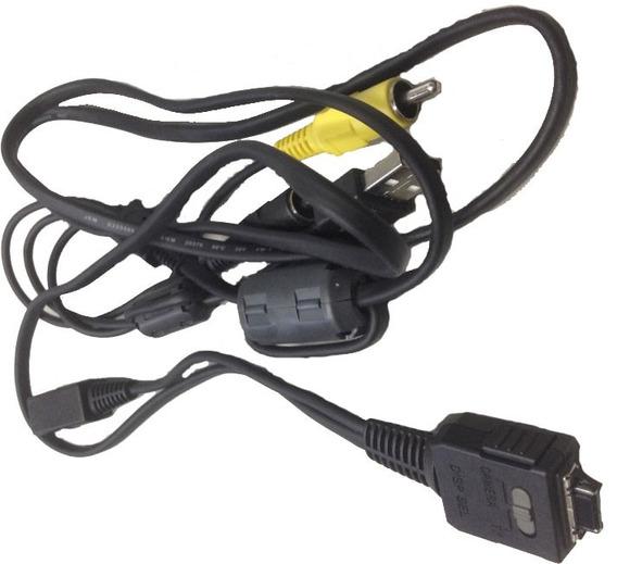 Cabo De Filmadora Sony Comutador Camera / Tv Disp Sel
