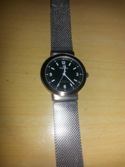 Relógio Champion - 510am - Pulseira Inox Regulável