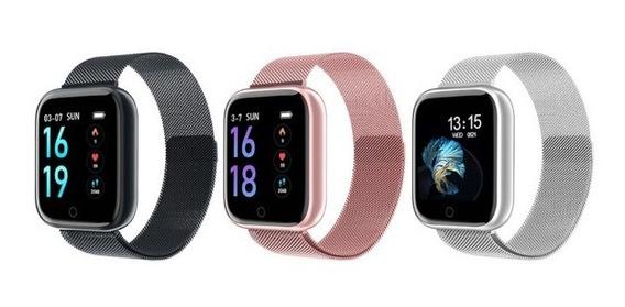 Relógio Inteligente Smartwatch Smart Bracelet T80 Com 1 Pulseira Extra