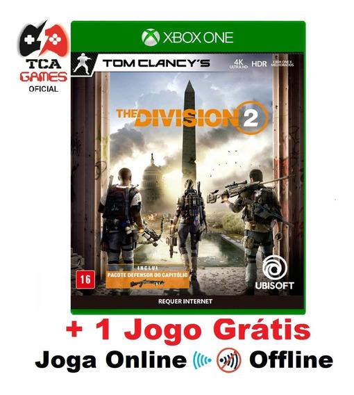 Tom Clancy The Division 2 Xbox One Mídia Digital