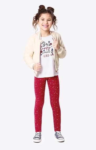 Jaqueta Peluciada Menina Malwee Kids Ref. 42698