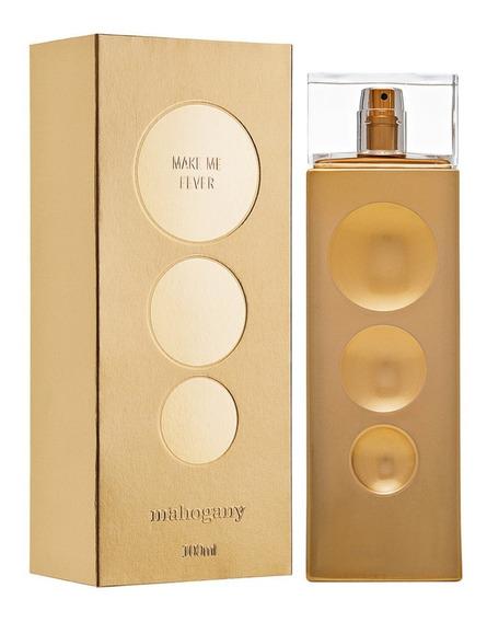 Fragrância Make Me Fever Gold 100ml - Mahogany Oferta