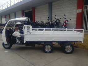 Motocarro Caja Larga C/cabina 300cc Reforzado Doble Eje1 Ton