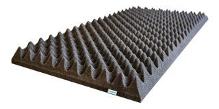 10 Panel Acústico Placa Acústica 100x50x5cm Ultrasonic Conos