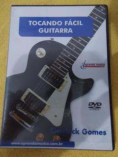 Dvd Tocando Fácil Guitarra Sherlock Gomes