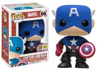 Funko Pop + Las Películas De Capitán America + Llavero