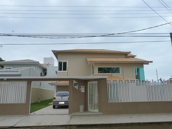 Casa Para Venda, 4 Dormitórios, Mirante Da Lagoa - Macaé - 610