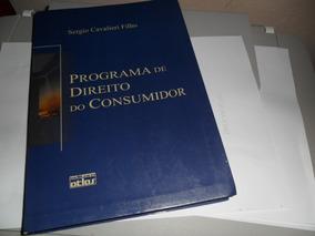 Livro Programa De Direito Do Consumidor- Sergio C. Filho