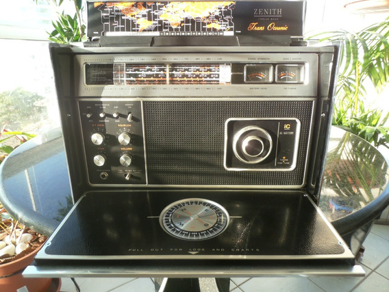 Radio Antigo Zenith Transoceânic M- 7000-y Assista Vídeo
