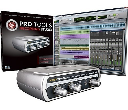 12 X Sem Juros - Pro Tools M-audio M Powered Essentials