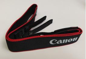 Alça Para Pescoço Canon Neck Strap Fina Silk
