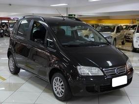 Fiat Idea 1.4 Elx Preto 2008 Whats 11 975545033