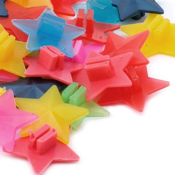 Estrelas De Raio Cores 36 Peças Monareta Tigrão Berlineta