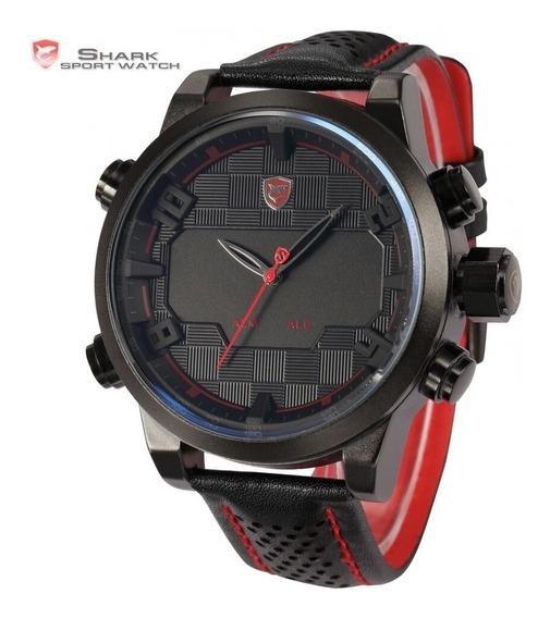 Relógio Esportivo Shark Sh203 Led Original Pronta Entrega