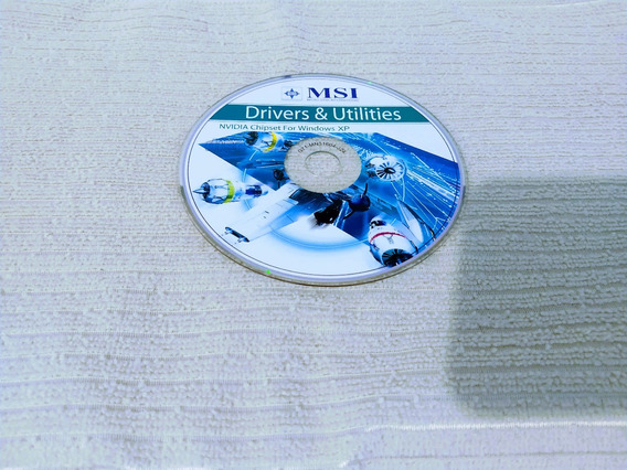 Dvd - Msi Driver & Utilities - Nvidia Chipset For Windows Xp