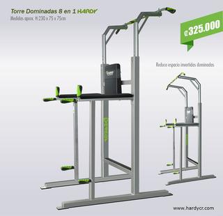 Torre Dominadas Hardy Pro (pull Ups Fondos Deep