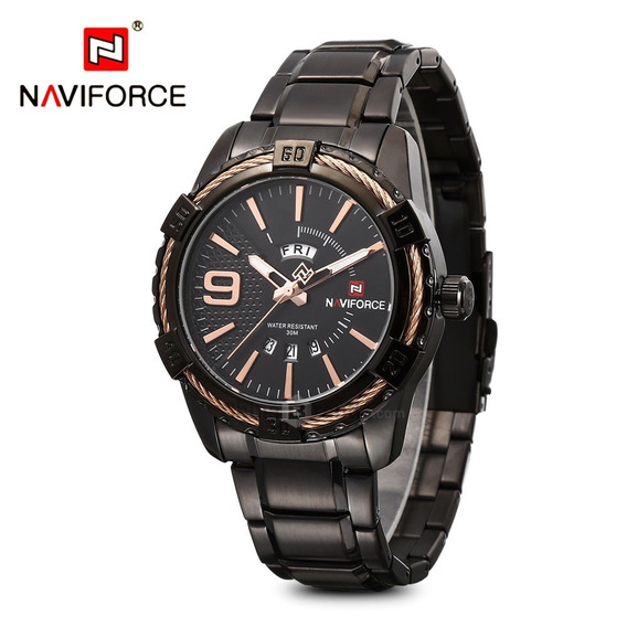 Relógio Naviforce 9117 Militar Esportivo Original Novidade!!
