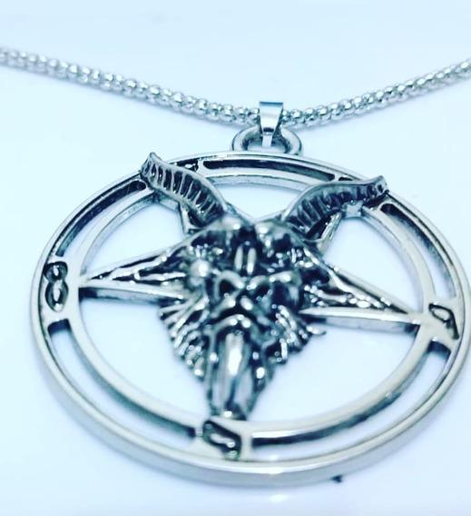 Pentagrama Invertido Baphomet