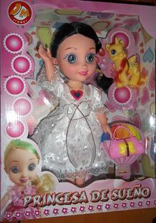 Muñeca. Princesa De Sueños.cantante.
