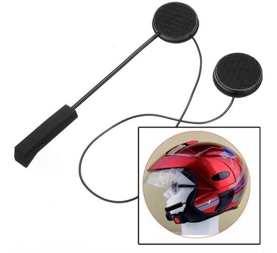Fone De Ouvido Bluetooth Capacete Moto Viva Voz Sem Fio Bt8