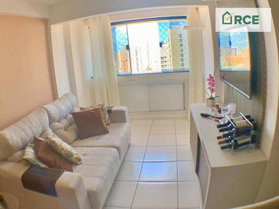 Apartamento Com 2 Dormitórios À Venda, 97 M² Por R$ 299.000,00 - Lagoa Nova - Natal/rn - Ap0191