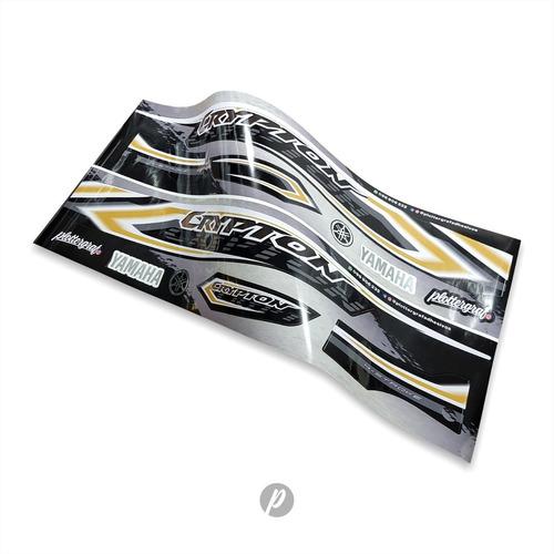 Imagen 1 de 8 de Stickers Calcos Yamaha Crypton / Kit Completo / Plottergraf