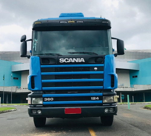 Scania R 124 Ga 6x2