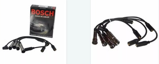 Juego Cables Bosch 4 Bujias Ngk Vw Jetta Golf A2 A3 1.8