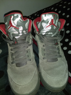 Air Jordan Retro 5 Dark Stucco Originales
