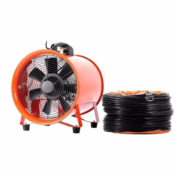 Ventilador Extractor Industrial De 10¨ Con Ducto Plegable 5m
