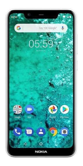 Celular Libre Nokia 5.1 Blanco