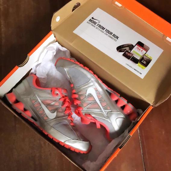 Tênis Nike Reax Run 6 Neon Original