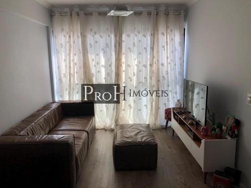 Imagem 1 de 15 de Apartamento Para Venda Em São Caetano Do Sul, Olímpico, 2 Dormitórios, 1 Suíte, 2 Banheiros, 1 Vaga - Cervgreic