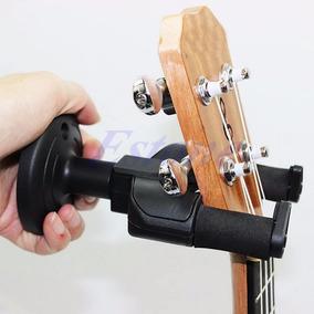 Suporte De Parede Com Trava Fixa Violão Guitarra