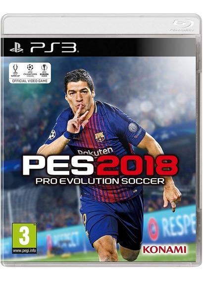 Pes 18 Ps3 Pro Evolution Soccer 2018 Leia A Descrição