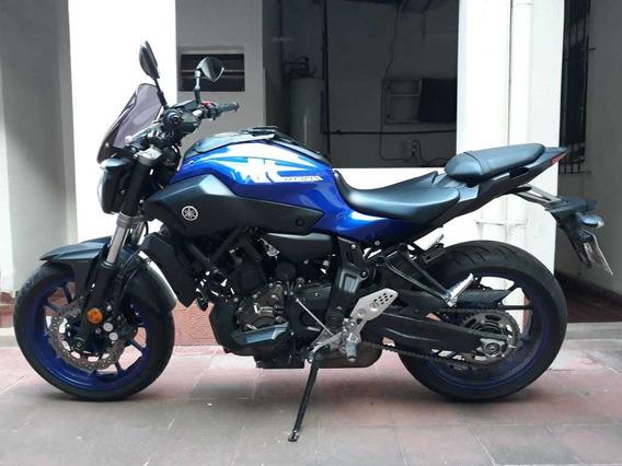 Moto Yamaha Mt-07 Azul