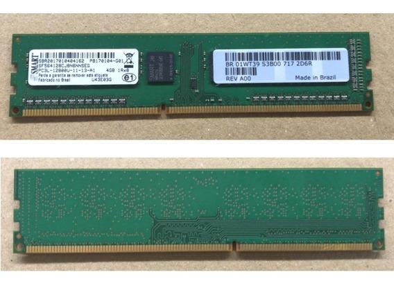 Memória Smart 4gb Ddr3 - Desktop Pn: U43e03g