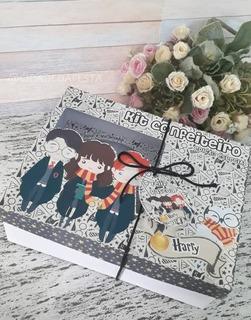 Caixa Kit Mini Confeiteiro Tema Harry Potter + Brinde
