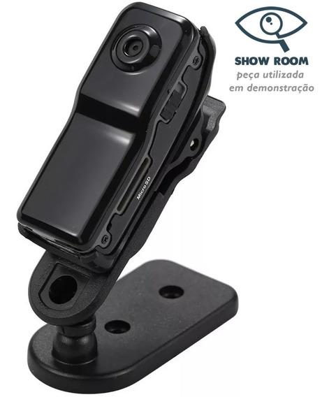 Mini Câmera Gravador Voz Portátil Md80 Show Room