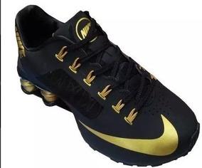 4b2d24afdab Tenis Nike Shox R4 Dourado - Nike para Masculino no Mercado Livre Brasil