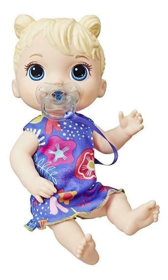 Boneca Baby Alive Primeiros Sons Loira Original Nota Fiscal