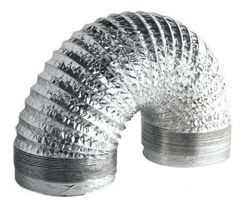 Duto Flexível Aluminizado 4 Polegadas / 100mm Rolo 10m