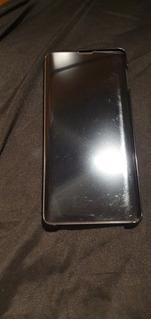 Capa Clear View Samsung S10+