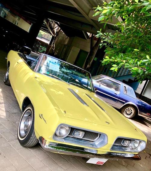 Coche Clásico Plymouth Barracuda, 1967